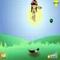 Frisbee Hund -  Arkade Spiel