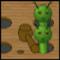 Raupen zerschmettern -  Arkade Spiel