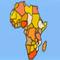 Erdkundespiel - Afrika -  Puzzle Spiel