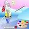 Färbe die Maus -  Puzzle Spiel