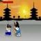 Samurai Arschloch -  Kampf Spiel