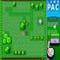 Pac auf dem Rasen -  Arkade Spiel
