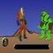 Schrotsägen-Kämpfer -  Puzzle Spiel