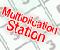 Station der Multiplikation -  Mathe-Puzzles Spiel