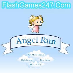 Engel Rennen -  Abenteuer Spiel
